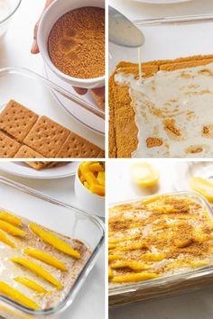 Try making this easy, creamy and delicious Mango Float that is great for parties or any occasion! It's a sweet, refreshing, no-bake and no-fail dessert that you will love! Mango Desserts, Philipinische Desserts, Tropical Desserts, Refreshing Desserts, Filipino Desserts, Summer Desserts, Filipino Dishes, Graham Cake Ingredients, Mango Float Ingredients