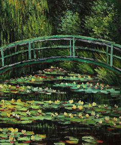 """White Water Lilies, 1899"" by Claude Monet"