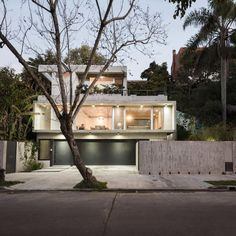 L shaped house located in Argentina from where Río de la Plata river can be seen - CAANdesign   Architecture and home design blog