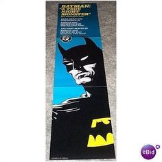1988 BATMAN MONSTER DC COMICS 80's PROMO POSTER BANNER Listing in the Posters,Comics,Books, Comics  & Magazines Category on eBid United States | 26631884