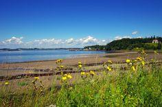 One of the beaches near the ferry on Campobello Island, New Brunswick