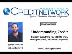 MUST WATCH! - Completely FREE Educational Credit Lesson - Learn EVERYTHING about your CREDIT in 1 hour. Nationally recognized credit expert gives you 15 years of credit expertise in 60 minutes.