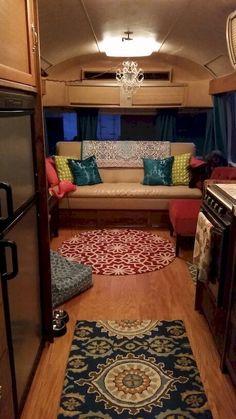 cool 54 Best Camper Interior Decoration Ideas https://wartaku.net/2017/04/28/best-camper-interior-decoration-ideas/