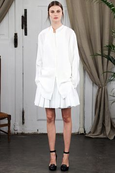 Lemaire Spring 2014 Ready-to-Wear Fashion Show Collection