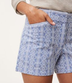 $59.50 Make everyday a getaway with these flattering shorts