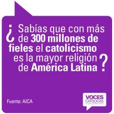 """Pieza FIELES de la campaña viral """"¿Sabías que?"""" para Voces Católicas Argentina."""
