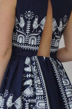 Folklore, Fashion Outfits, Womens Fashion, Indigo, High Waisted Skirt, Costumes, Fabric, Skirts, Weddings