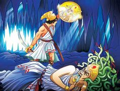 Meet the monsters of Ancient Greek mythology here at Nat Geo Kids. We explore the tales of Medusa, the Minotaur, the Chimera and other Greek myths. Greek History, Ancient History, Greek Myths For Kids, Perseus And Medusa, The Minotaur, Clash Of The Titans, National Geographic Kids, Mystery Of History, Ancient Greece