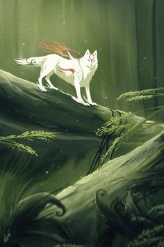 In the Woods by ~Chicochen on deviantART