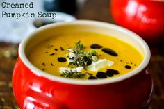 Creamed Pumpkin Soup | finally found the German recipe for it.