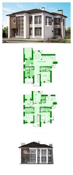 Ev villa projesi 300-005-R | House Expert
