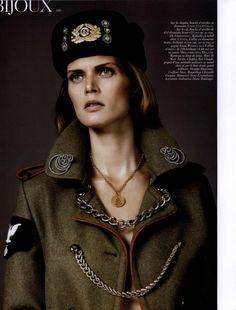 Medailles du style Editorial from Vogue Paris Magazine, August 2010