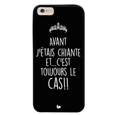 coque iphone arrogance avant jetais chiante noir