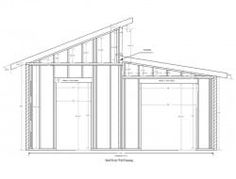 Diy storage shed plans free. If you need extra storage space these shed plans can solve that problem. Diy Storage Shed Plans, Storage Sheds, Garden Shed Diy, Backyard Sheds, Big Doors, Cheap Sheds, Shed Organization, Clutter Solutions, Modern Shed