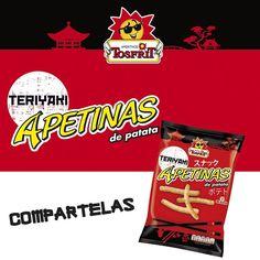 ¡Sayōnara marzo! Ya tenemos ganas de empezar un nuevo mes mañana, pero más ganas hay de probar esta bolsa de #ApetinasTeriyaki, inspiradas en uno de los mejores sabores orientales.   ¿Quién se apunta?