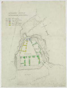 Mingary castle 01 Archaelogical Survey Plans 1