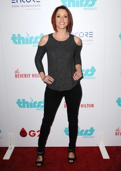 Chyler Leigh Sighting in Beverly Hills, California on 03/22/16 at 11:04 PM at The Beverly Hilton