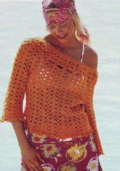 DE MIS MANOS TEJIDOS Y MAS...: Mas blusas a crochet