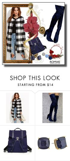 """ROMWE CONTEST"" by maja9888 ❤ liked on Polyvore featuring Proenza Schouler, Kate Spade and Burberry"