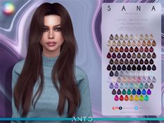 Sims 4 Mods Clothes, Sims 4 Clothing, Sims 4 Cas, Sims Cc, Sims 4 Traits, The Sims 4 Cabelos, Sims 4 Collections, Pelo Sims, Sims 4 Toddler