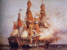 1800 : Die Eroberung des Ostindienfahrers KENT durch die CONFIANCE unter Robert Surcouf