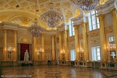 Tsaritsyno Palace, Moscow, Russia. Built as a summer residence for Catherine II
