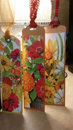 Love floral bookmarks by N Rankin                                                                                                                                                                                 More