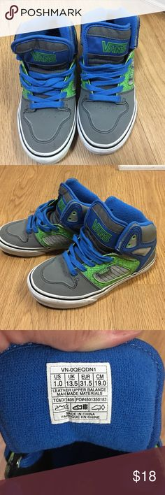 Vans These are in very excellent condition. My son only used about twice due to the fact he had that one pair he loves and wouldn't switch whatsoever. Vans Shoes Sneakers