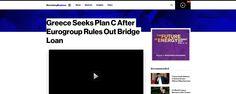 Bloomberg: Η Ελλάδα ψάχνει τώρα ένα Σχέδιο Γ' μετά το «όχι» του Eurogroup | iefimerida.gr