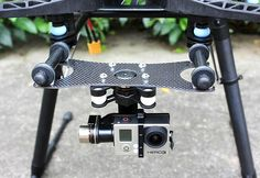 24.99$  Buy here - http://alidua.shopchina.info/go.php?t=32697417304 - FPV PTZ GoPro Zenmuse H3-3D Gimbal Carbon Fiber Adapter Plate Mounting Board for  Spreading Wings S800,  S1000 / Tarot T810,  24.99$ #buyonlinewebsite