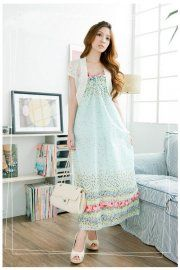 Bohemian Style Sleeveless Harness Maxi Dress    $44.28