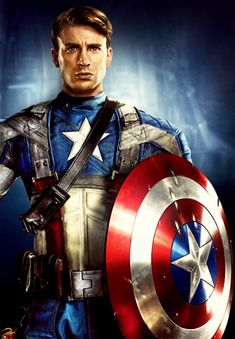 Captain Amercia...hott! <3333