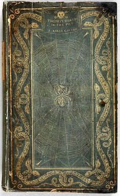 "Bookcover, ""A Treatise on Adulterations of Food and Culinary Poisons..."" 1820 ~ awesome bookcover, interesting content...was actually able to download a copy"