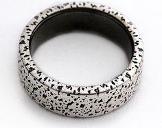 Heart wedding rings gift ideas Wedding ring set by CADIjewelry
