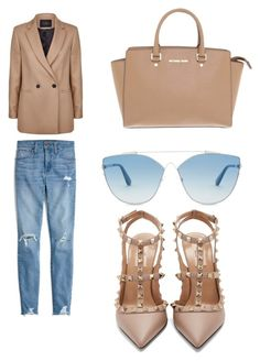 """Без названия #109"" by djelsomina-manchini on Polyvore featuring мода, Maje, Madewell, Valentino, Michael Kors и Christian Dior"