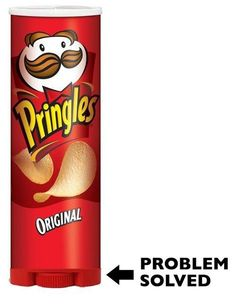 Engineered Pringles can.