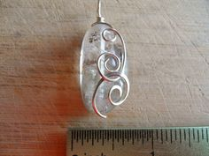 Phantom Quartz Tumbled Stone Drilled Pendant Charm  by OurBackYard, $8.00