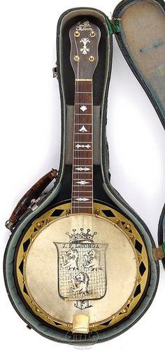 1929 Gibson UB5 Ukulele Banjo-