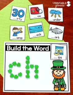 Stop by and check out these hands-on St. Patrick's day activities for Kindergarten. There's tons of engaging, hands-on activities to keep your kiddos learning the entire month of March. The activities are great for morning tubs, early finishers, or literacy and math centers. Best of all they were made just for Kindergarten - which means they are skills your little learners are working on during the month of March. While you're there, be sure to download your free copy of a fun game to practice n