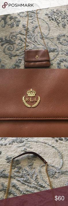 Authentic Ralph Lauren Cross Body! Authentic Ralph Lauren Cross Body purse!! In mint condition, no stains or scratches!! Ralph Lauren Bags Crossbody Bags