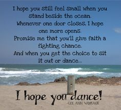 I hope you dance - Lee Ann Womack - Lyrics & Video link