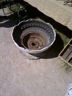 1000 images about uses for rims on pinterest old tires for Uses for old tyres