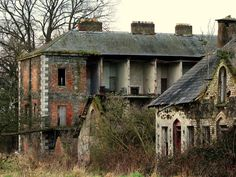 I love abandoned building and houses. I just want to buy them all and fix them up. I don't know why. I wish I had the money to do that.