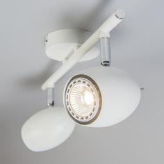 Spot Egg 2 biały #stylskandynawski #nowoczesnelampy #lampyindustrialne