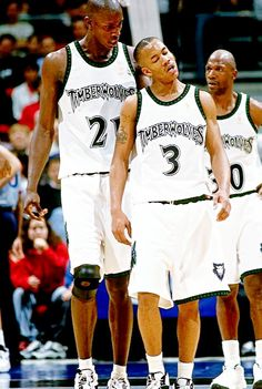 K.G. And Steph, '97 wish they had stayed together but Marbury left Minnesota. Marbury had a lot of talent but I feel he underachieved.