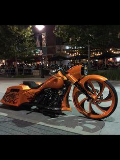 Rims orange/black