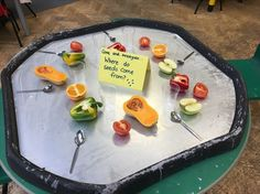 Where do seeds come from investigation Science Eyfs Activities, Nursery Activities, Science Activities, Seed Activities For Preschool, Seeds Preschool, Harvest Activities, Autumn Activities, Reggio Emilia, Tuff Spot