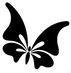 about Cute Butterfly Sexy Girly Car Truck Window Vinyl Decal Sticker 10 Colors stencil Butterfly Stencil, Butterfly Drawing, Cute Butterfly, Beautiful Butterflies, Tribal Butterfly, Butterfly Tattoos, Flower Tattoos, Stencil Patterns, Stencil Art