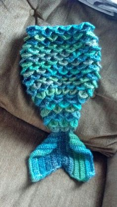 Crochet Mermaid tail made by me!