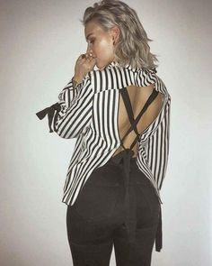 Anne-Marie opts for a monochrome outfit and we cannot wait to see what she wears at the STB! Monochrome Outfit, Black Jeans, Sexy, Party, Model, How To Wear, Shirts, Outfits, Instagram